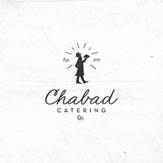 Chabad Catering Co. Typography Logo, Graphic Design Typography, Logo Branding, Branding Design, Catering Logo, Logos, Grafik Design, Creative Logo, Illustrations