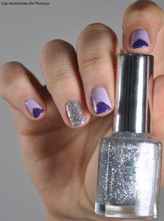 Purple nail art #nail #nails #nailart
