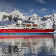 """Sailing from Spitsbergen to Greenland, follow the ice's edge with an eye peeled to the horizon for wildlife. Navigating south, you'll explore this remote landscape not only by ship but also on foot and via Zodiac. This journey highlights the contrast and change in the Arctic as you move south, finally ending in Iceland, """"the Land of Fire and Ice."""" An Inuit village, unique wildlife, and remote destinations are just some of the highlights on this truly unforgettable voyage through the Arctic."""