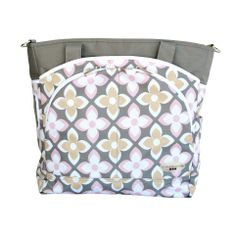 JJ Cole MODE in Pink Lily. Because pink is a moms best friend! #jjcole #diaperbag #style