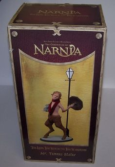 The Chronicles of Narnia Mr Tumnus Statue NIB Sealed NECA Limited to 3,000