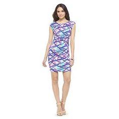 Print Sheath Dress Radiant Orchid - Ambar S - #Target #Coupon #Codes #Promocodes #Discounts #Deals #Offers #Dresses #Dress