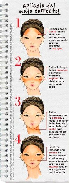 Consigue un efecto de bronceado aplicando el maquillaje en zonas claves de tu rostro