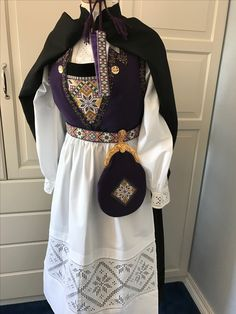 Made by Inger Johanne Wilde Norway, Vikings, Traditional, Embroidery, Clothes, Dresses, Outfits, Hardanger, Scandinavian