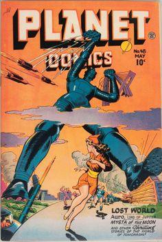 joe doolin planet comics   Planet Comics #48