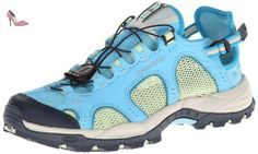 Salomon - Techamphibian 3 - Derby homme, marron (Score Blue/Greentea/Boss Blue), 41.5 - Chaussures salomon (*Partner-Link)