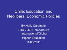 The amazing story about how the University of Chicago and the Chicago boys changed the course, economy and history of Chile. Economic Policy, Latin America, Higher Education, Chile, Chicago, University, History, Boys, Amazing