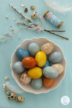 Naturalne barwienie jajek wielkanocnych -DIY - Lawendowy DomLawendowy Dom