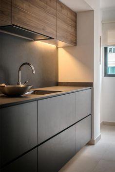 Kitchen Room Design, Kitchen Cabinet Design, Modern Kitchen Design, Home Decor Kitchen, Interior Design Kitchen, Home Kitchens, Kitchen Ideas, American Kitchen Design, Small Modern Kitchens