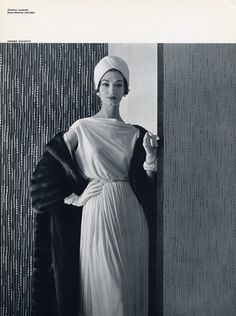 Pierre Balmain 1957 Photo Pottier Fashion Photography