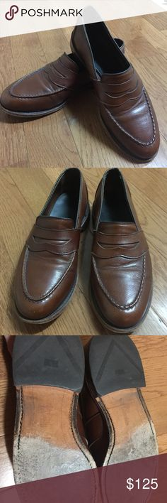 Allen Edmonds 9 1/2 D men's shoes Allen Edmonds 9 1/2 D men's shoes in good condition. If quality is what you're looking for these are the shoes for you. Absolutely stunning and well made classic and timeless shies. Great deal! Allen Edmonds Shoes Loafers & Slip-Ons