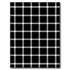 Blinking Dots - Optical Illusion Post Cards
