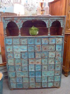 This is my dream cabinet!  Apothecary - Herbal Medicine Cabinet