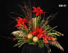 Image detail for -... Silk Floral Arrangements, Commercial Holiday Flower Arrangements