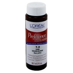 Loreal Preference Color