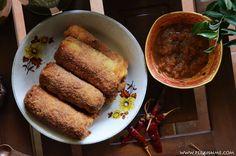 This Sri Lankan rolls recipe will take you right back to childhood. This Sri Lankan recipe yields beautiful fish rolls just like you remember