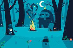 Game Project by Jamie Oliver Aspinall, via Behance