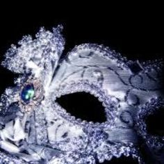 Silve masquerade mask