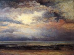 Gustave Courbet-L'Immensite