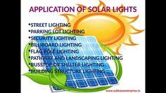 Solar street light pole : Eco friendly lighting option