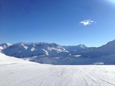 Great slopes this morning after yesterdays snowing (pic by St.Moritz - Top of the World) #stmoritz #snow #winter