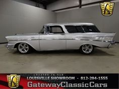 '57 Nomad Gateway Classic Cars - classic cars for sale, muscle cars for sale, street rods, hot rods, mopars, antique cars, vintage cars