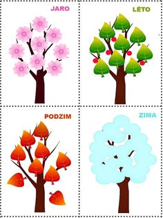 A 4 ÉVSZAK Preschool Themes, Class Activities, Kindergarten Activities, Toddler Activities, School Frame, Adult Coloring Pages, Four Seasons, Art Projects, Crafts For Kids