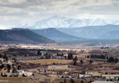 Castle Rock, Colorado. Great little city south of Denver