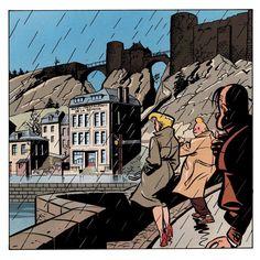 Freddy Lombard sous la pluie Y. Chaland