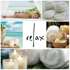 Relax. Dream. Breathe. Smile. #moodboard #mosaic #collage #byJeetje♡