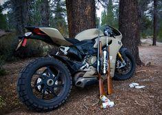 Cati1 MotoCorsa Unveils First Ever Off Road Ducati Superbike