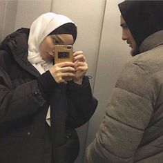 Cute Muslim Couples, Cute Couples Goals, Aesthetic Fashion, Aesthetic Girl, Muslim Pictures, Muslim Couple Photography, Hijab Style Tutorial, Cindy Kimberly, Casual Hijab Outfit