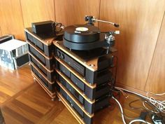 TW Raven GT turntable and arm plus NAIM electronics