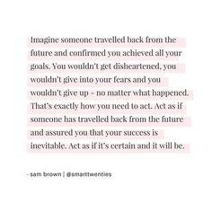 Success is inevitable ✨