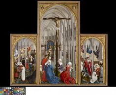 De Zeven Sacramenten - Rogier van der Weyden - 1440 - 1445