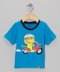 Take a look at this Blue Hoshi Tee - Toddler by Lazoo on #zulily today!