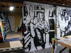 Painting ChromaDepth 3D Wall Panels: Tutorial - Blogs - Halloween Forum