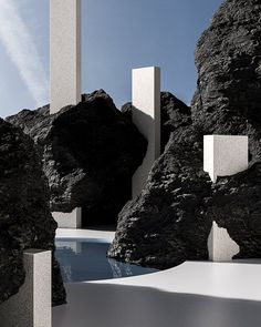 """Image 8 of 13 from gallery of Alexis Christodoulou: """"Anyone Who is Qualified as an Architect Inspires Me"""". Courtesy of Alexis Christodoulou Minimalist Architecture, Futuristic Architecture, Landscape Architecture, Interior Architecture, Interior And Exterior, Landscape Design, Baroque Architecture, Ancient Architecture, Sustainable Architecture"""