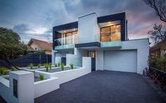 Black adds a sense of sophistication to the fabulous home