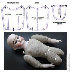 Создаем куклу в антикварном стиле | 46 фотографий