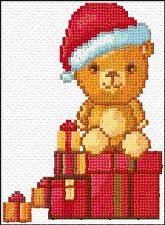 Cross Stitch | Merry Christmas xstitch Chart | Design