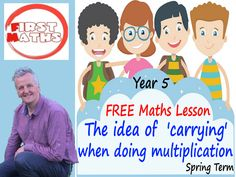YouTube The idea of  'carrying' when doing multiplication Maths PowerPoint Lesson - Spring