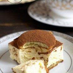 Serowe cappuccino bez pieczenia Tiramisu, Ethnic Recipes, Food, Meal, Eten, Meals, Tiramisu Cake