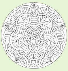 Mandalas coloriages
