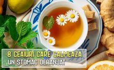 8 ceaiuri care calmeaza un stomac deranjat | LaTAIFAS