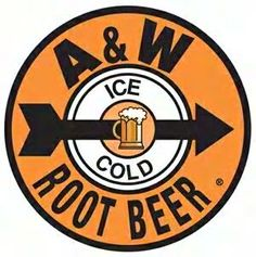 old A&W root beer stand logo