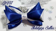 DIY - Laço para Natal e Ano Novo - handmade por Adalgiza Salles