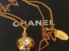 A personal favorite from my Etsy shop https://www.etsy.com/listing/234425318/chanel-gold-necklace-authentic-vintage