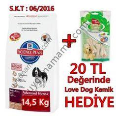 Hills kuzu etli köpek maması 12 + 2,5 Kg + Kemik Hediyeli