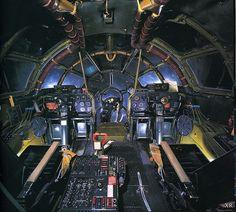 Flight deck of the Enola Gay Ww2 Aircraft, Military Aircraft, Sud Aviation, Enola Gay, Airbus A380, Ww2 Planes, Vintage Airplanes, Flight Deck, Nose Art
